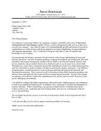 executive director cover letter sample recentresumes com