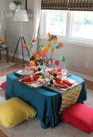 plastic thanksgiving tablecloths kids thanksgiving table creative home