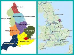 Hull England Map by