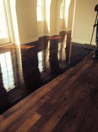 sanding a 1 year prefinished maple floor grove