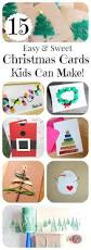 15 diy christmas cards kids can make letters from santa