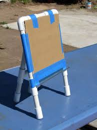 Pvc Pipe Patio Furniture Plans - pvc easel 6 steps