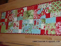 25 unique quilt table runners ideas on quilted table