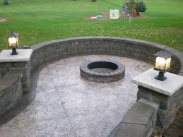 Backyard Design San Diego by Outdoor Table With Fire Pit Diy Build Patio Pits Backyard Design