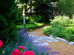 Backyard Gravel Ideas - pictures of garden pathways and walkways diy