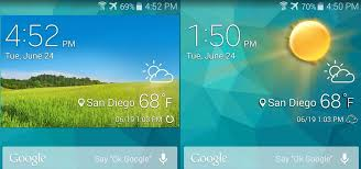samsung galaxy s5 lock screen apk samsung weather app widget for any android device theinnews