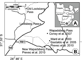 Blank Map Of South Africa Provinces by Latest Permian Paleosols From Wapadsberg Pass South Africa