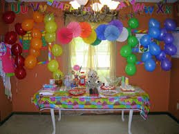 2nd birthday decorations at home wondrous at home birthday party ideas 25 unique decorations on