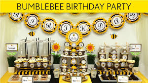 bumblebee party supplies bumble bee party favors baby shower party decor