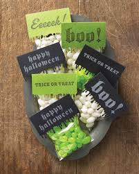 halloween treat bags and favors martha stewart