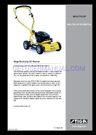stiga lawn mowers multiclip 11 5234 53 user u0027s manual download free
