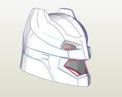 batman helmet foam template