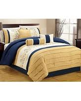 Yellow King Size Comforter Holiday Shopping Special Wpm 7 Pieces Complete Bedding Ensemble