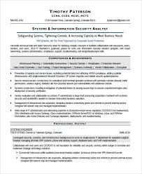 Information Security Resume Examples by 18 Network Security Resume Sample Federal Resume Sample Related