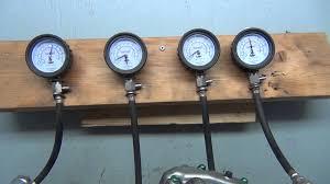 99 vt1100 engine compression test 523 youtube