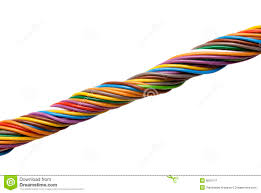multi colored wires stock image image 8591511