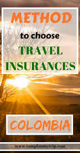 Massachusetts Best Travel Insurance images Tricks to choose the best travel insurance for colombia colombia png