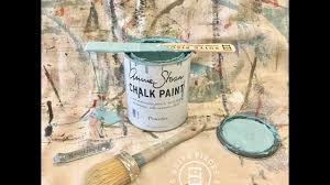getting started painting with chalk paint by annie sloan youtube