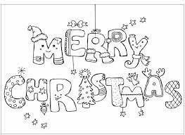 christmas coloring pages preschoolers u0026 toddlers merry