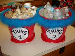 thing 1 and thing 2 baby shower thing 1 thing 2 beverage buckets for a baby shower for