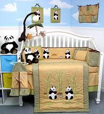 Baby Nursery Bedding Amazon Com Giant Panda Bear Baby Crib Nursery Bedding Set 13 Pcs