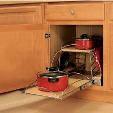 Under Cabinet Pot Rack by Cookware Organizers Pot U0026 Pan Organizers U0026 Bakeware Organizers