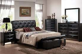 King Bedroom Furniture Sets For Cheap Bedroom 4 Piece Cheap Bedroom Sets With Tufted Leather Bed How