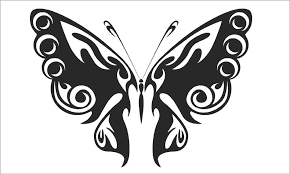 coloring page teccsjc easy cool butterfly designs to draw ing