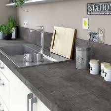 plan de travail cuisine gris charmant cuisine grise plan de travail bois et stratifia collection