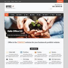 office responsive wordpress business theme