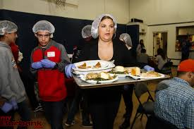 salvation army thanksgiving dinner ross a benson myburbank