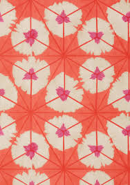 The Powder Room Cambridge Sunburst Pink And Coral T13089 Collection Summer House From