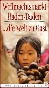 Baden Baden Weihnachtsmarkt Weihnachtsmarkt Baden Baden Die Welt Zu Gast