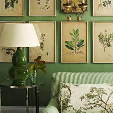 Green Livingroom by Botanical Inspired Room Schemes That Invite Florals And Foliage