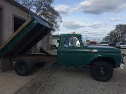 Ford F350 Diesel Trucks - 1964 f350 4x4 ford dump truck all origional 8500 ford truck