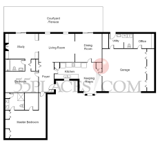 Sq Footage by Ranch Townhome Floorplan 2300 Sq Ft Middleton Place