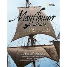 mayflower 1620 1621 thanksgiving pilgrims of plymouth sailing