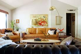 Leather Sofa Decorating Ideas Light Brown Leather Sofa Living Room Ideas Centerfieldbar Com
