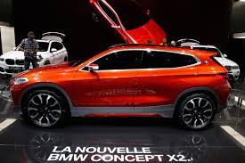 bmw x2 concept car paris motor show photos business insider