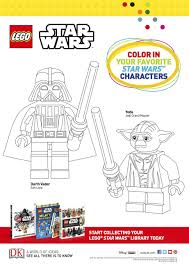 star wars coloring lego book pages colouring sheets