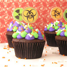 Halloween Monster Cupcakes Toxic Slime Filled Cupcakes Easybaked