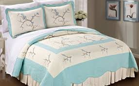 Cherry Blossom Comforter Sets Cherry Blossom 100 Cotton Limited Edition 3 Piece Bedspread Quilts