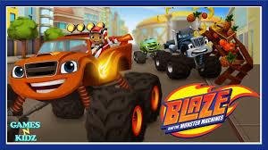 blaze u0026 monster truck machines children u0027s racing games