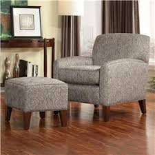 Accent Chair With Ottoman Smith Brothers Accent Chairs And Ottomans Sb Wingback Chair And