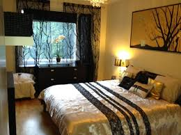 love the black sheer curtains the bedding and the painting on the