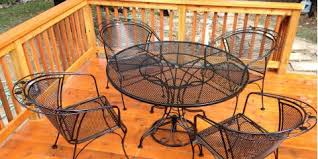Patio Furniture St Louis Gateway Powder Coating Offers The Best Sandblasting Services In St