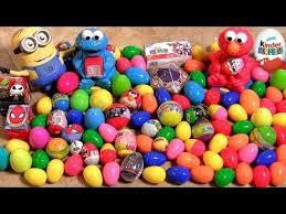 105 surprise eggs kinder surprise trash pack lego harry potter