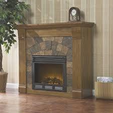 Contemporary Electric Fireplace Fireplace Electric Fireplace Oak Home Design Popular