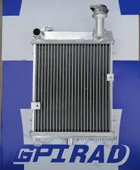 gpi racing aluminum radiator for honda goldwing gl1100 gl 1100 in