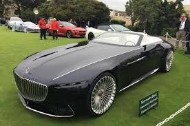maybach and mercedes electric mercedes maybach 6 cabriolet concept car revealed autocar